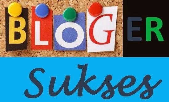 Tiga Modal Menjadi Blogger Sukses